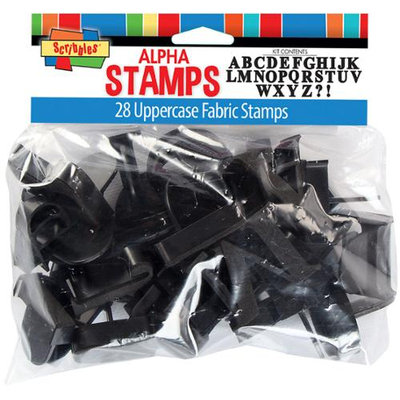 I Love To Create Uppercase Alphabet Stamp Kit