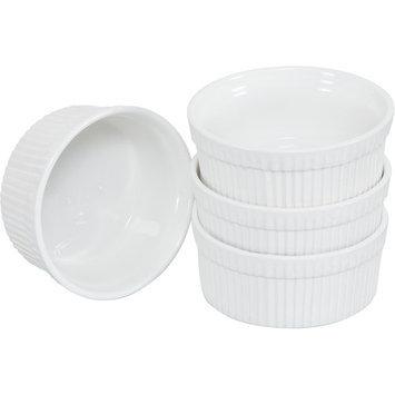 Ten Strawberry Street Whittier - 5 Inch Ramekin-Souffle Dish - Set Of 6