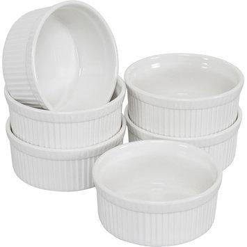 Ten Strawberry Street Whittier - 4.5 Inch Ramekin-Souffle Dish - Set Of 6