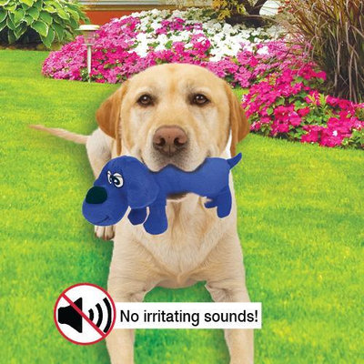 Job Ultrasonic Silent Dog Toy Squeaker Chew Play Toy