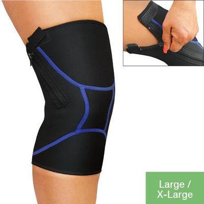Jobar Zipper Quadstrech Knee Support Brace Large/XLarge Wrap