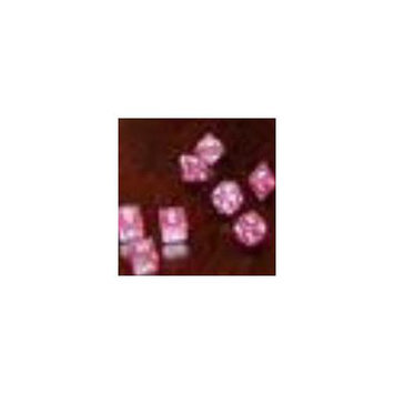Glitter - Purple with White Numbers 7 Piece Polyhedral Dice Set KPL02894 Koplow Games