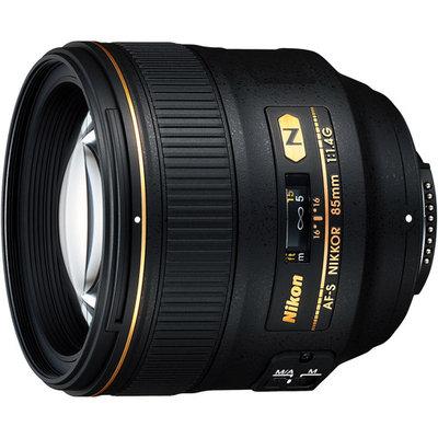 Nikon 85mm f/1.4G AF-S NIKKOR Lens
