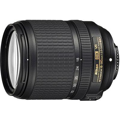 Nikon 18-140mm f/3.5-5.6G ED VR Zoom Lens