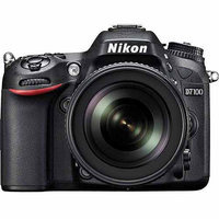 Nikon D7100 (13302) Black Digital SLR w/ 18-140mm VR Lens