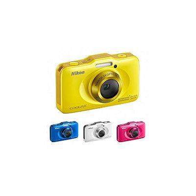 Nikon COOLPIX S31 10 Megapixel Rugged Digital Camera - Yellow