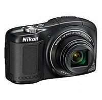 Nikon Coolpix L620 18 Megapixel Digital Camera - Black