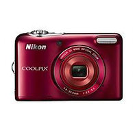 Nikon - Coolpix L32 20.1-megapixel Digital Camera - Red