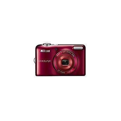 Nikon - Coolpix L32 20.1-megapixel Digital Camera - Red