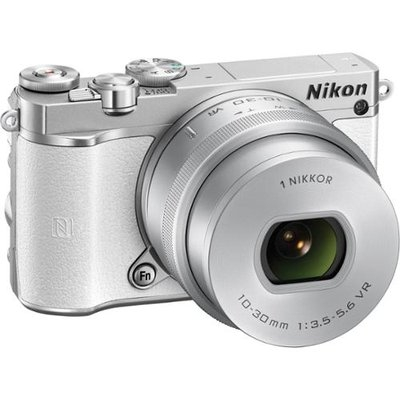 Nikon - 1 J5 Mirrorless Camera With Nikkor 10-30mm F/3.5-5.6 Pd Zoom Lens - White