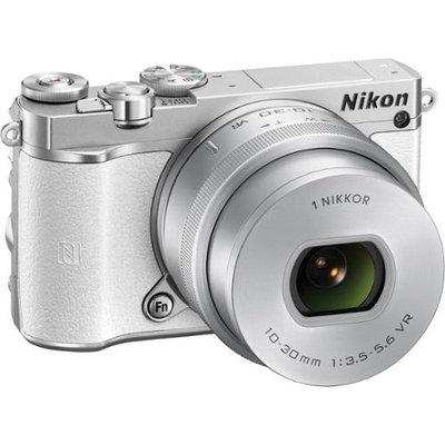 Nikon - 1 J5 Mirrorless Camera With Nikkor 10-30mm F/3.5-5.6 Pd Zoom Lens - White