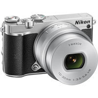 Nikon - 1 J5 Mirrorless Camera With Nikkor 10-30mm F/3.5-5.6 Pd Zoom Lens - Silver
