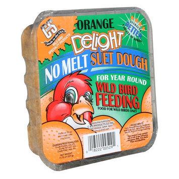 C & S Products #12529 11.75OZ Orange Suet Cake