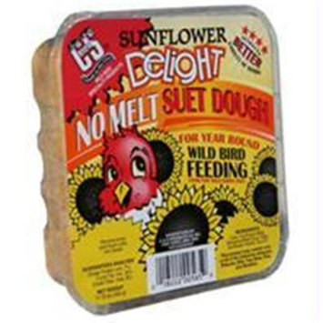 C & S Products C And S Products Co Inc P-Sunflower Delight No Melt Suet Dough- Sunflower 11.75 Ounce