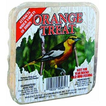 Horseloverz C & S Orange Treat Wild Bird Suet Cakes