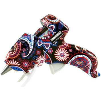 Fpc High-Temp Mini Glue Gun W/Safety Fuse 10 Watt-Multicolor Paisley
