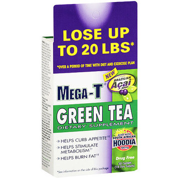 Mega-T Green Tea Dietary Supplement, 30ct