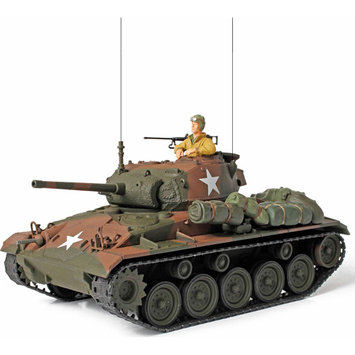 Unimax Toys Limited Unimax Forces of Valor U.S. Cadillac M24 Chaffee Light Tank 1:32 Scale