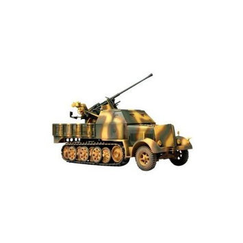 Forces of Valor German 1943 Sd. Kfz. 7/2 with 37mm Anti-Aircraft Gun Eastern Front Vehicle UNXV5101 Forces Of Valor