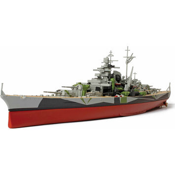 Unimax Toys Limited Unimax Forces of Valor German Battleship Tirpitz 1:700 Scale