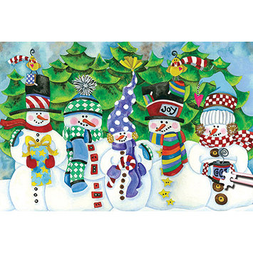 TDC Games 489192 Jigsaw Puzzle 204 Pieces 4 in. x 6 in. -Worlds Smallest-White Christmas