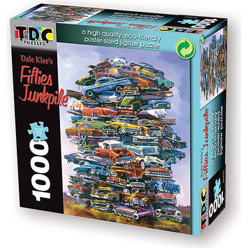 TDC Games Puzzle-Fifties Junkpile (1000 pc)