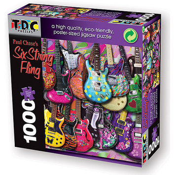 TDC Games Puzzle-Six String Fling (1000 pc)