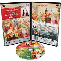 Weber Art Donna Dewberry DVD Woil Basic Learn To Paint