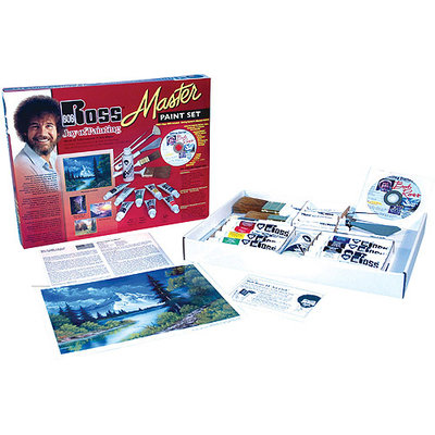 Martin/f. Weber Weber Bob Ross Master Paint Set with 1 Hour DVD