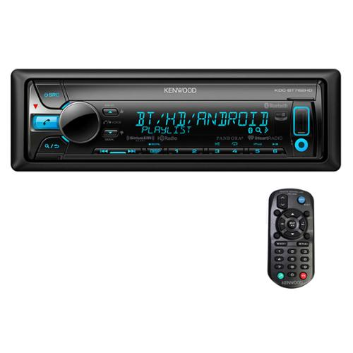 Kenwood Single DIN In-Dash Bluetooth Car Stereo Receiver