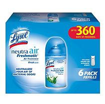 Lysol Neutra Air Freshmatic Refills, Fresh Scent (6 pk.)