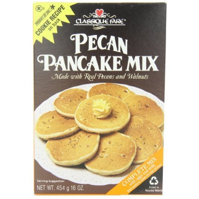 Classique Fare Pecan Pancake Mix, 16-Ounce (Pack of 6)
