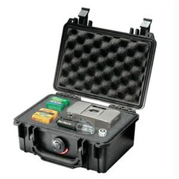Pelican Products Pelican 1120 Black Case with Pick 'N Pluck Foam