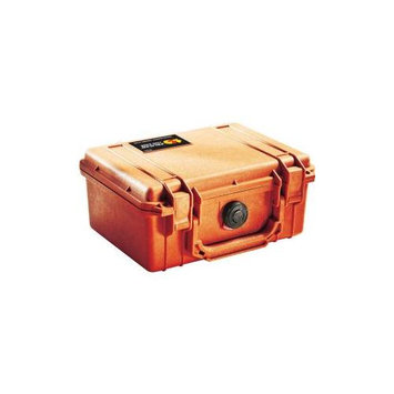 Pelican 1150 Watertight Hard Case with Foam Insert - Orange