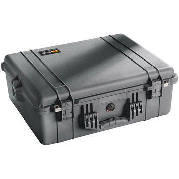 Pelican Products 1600 Case, Black, With Foam