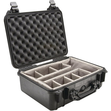 Pelican 1450 Protector Case with Padded Dividers