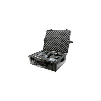 Pelican 1600 Watertight Hard Case with Foam insert - Silver (Gray)