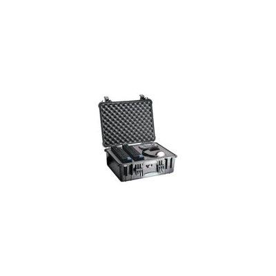 Pelican Products Pelican 1550 Watertight Hard Case without Foam Insert - Black