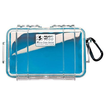 Pelican Products Micro Case Clear, Blue, 7.5