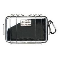 Pelican 1050 Micro Case with Black Liner - Clear