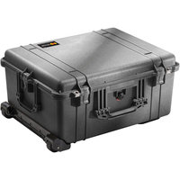 Pelican 1610 Travel/Luggage Case for Travel Essential - Stainless Steel