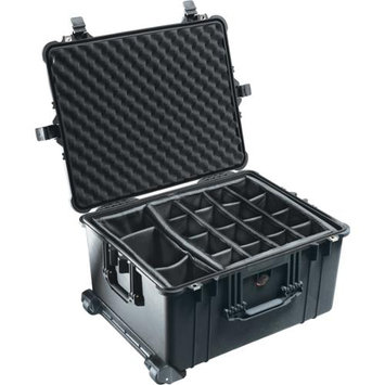 Pelican 1620 Case w/Padded Dividers - Black, 1620-024-110