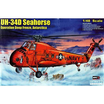 GAL64106 1:48 Gallery Models UH-34D Seahorse Operation Deep Freeze, Antarctica [MODEL BUILDING KIT] MRCS4106 MRC
