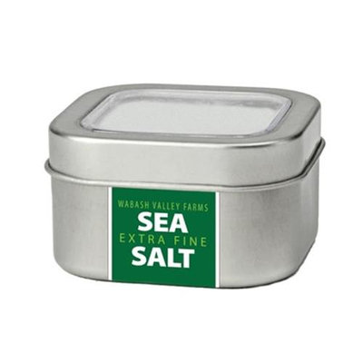 Wabash Valley Farms Inc 41085 Extra Fine Sea Salt in Metal Tin