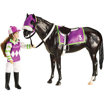 Reeves International Breyer Let's Go Riding - Racing #3 Purple/Green