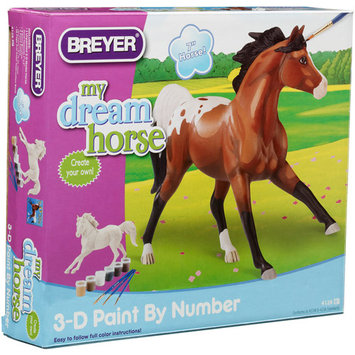 BREYER HORSES PAINT-BY-NUMBER 3-D ACTIVITY APPALOOSA