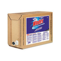 Windex Powerized Formula Glass/Surface Cleaner, 5 gal Bag-in-Box Dispenser