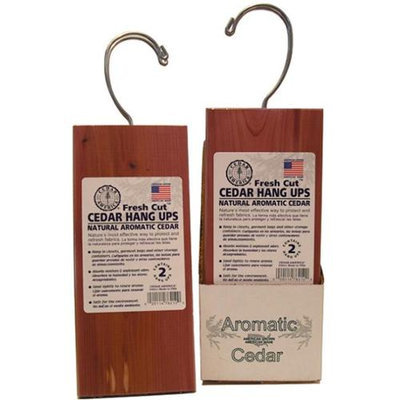 Cedar America Aromatic Cedar Hang Ups 2pk(Case of 12)