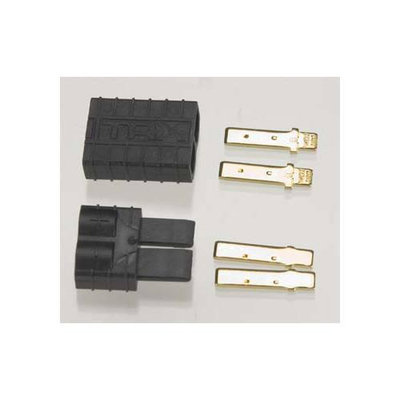Traxxas High-Current Connector Male/Female (1 pr) No wires