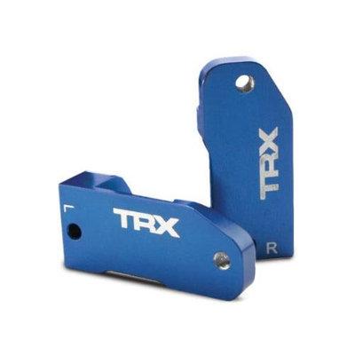 Traxxas Alum. Caster Blocks 30 Deg Blue LftRt RU ST